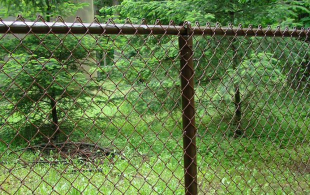 Brown Vinyl Chain Link Fitzpatrick Fence And Rail