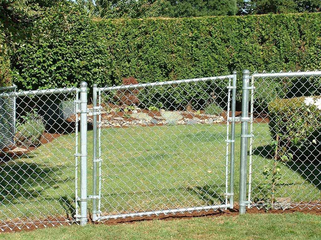 Chain link gates fitzpatrick fence and rail chain link fence gate fitzpatrick workwithnaturefo