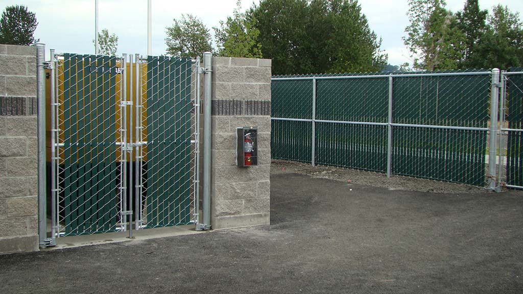 Commercial Chain Link Fitzpatrick Fence And Rail