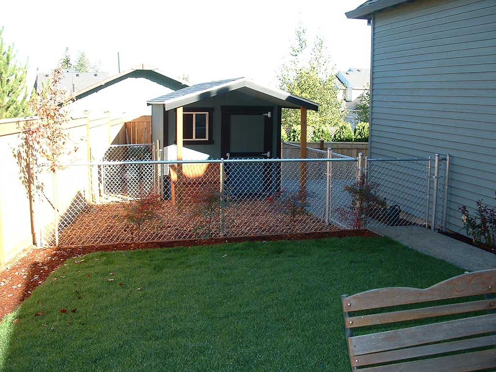 Galvanized Chain Link Fitzpatrick Fence And Rail