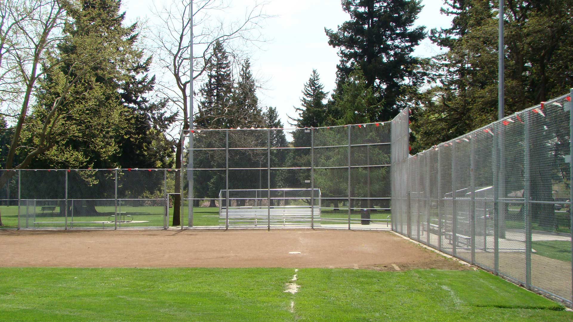 Lents Park Baseball Fields Fitzpatrick Fence And Rail