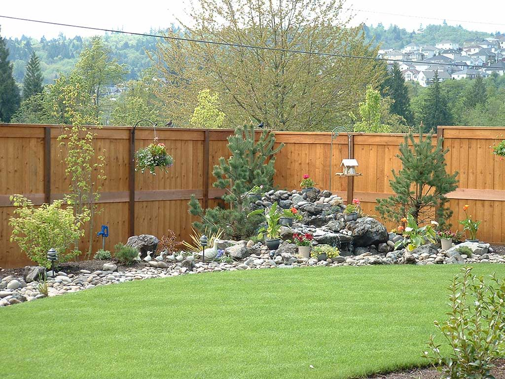 Picture Frame Cedar Fence Fitzpatrick Fence And Rail