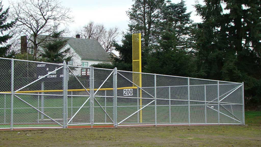 Baseball Fields Fitzpatrick Fence And Rail