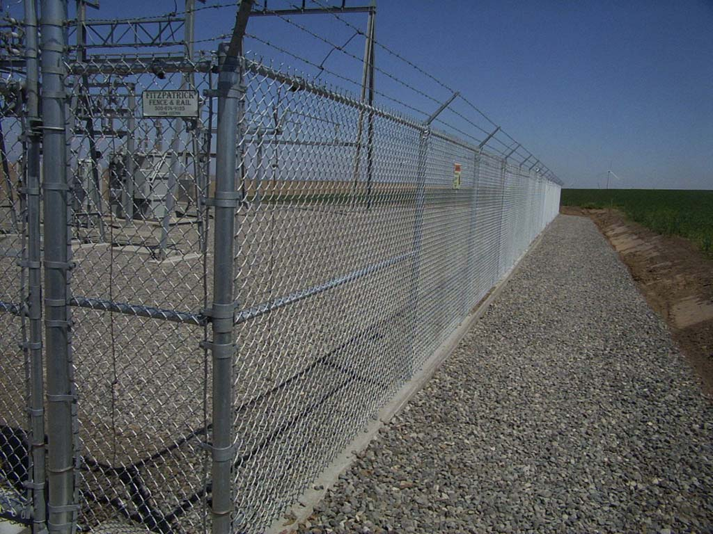 Security Fencing Fitzpatrick Fence And Rail