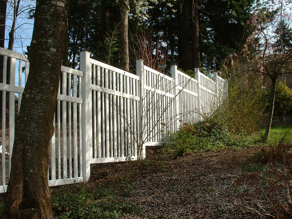 Vinyl Fence Fitzpatrick Fence And Rail